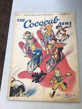 Rare Cadbury's Cococub News Magazine No 29 Nov 1938