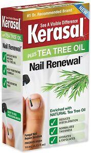 Kerasal NAIL RENEWAL PLUS TEA TREE OIL - FUNGAL NAIL REPAIR SOLUTION TREATMENT