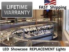 LED Showcase Ligiting Flourescent Bulb Replacement for 4 6 8 10 ft Glass Case