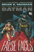 Batman False Faces HC Hardcover by Brian K. Vaughan (Y the Last Man) Wonderwoman