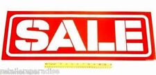 "LONG 28"" (#1 PREFERRED!) POPULAR SALE SIGN WINDOW POSTER / RETAIL STORE SUPPLIES"