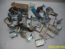 Lot of 50: Mixed Lot of Curtain Rod Brackets Many types and Styles