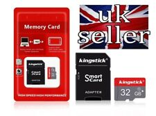Kingstick 32GB Ultra Micro SD SDHC TF Memory Card UHSI Class 10 With Adapter UK