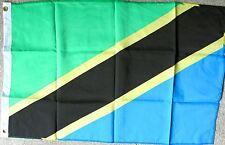 TANZANIA POLYESTER INTERNATIONAL COUNTRY FLAG 2 x 3 FEET
