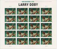 Larry Doby Hall of Famer Sheet 20 Forever Stamps Scott 4695