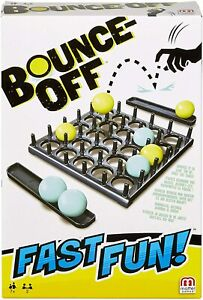 NEW OFFICIAL MATTEL BOUNCE OFF FAST FUN BOARD GAME