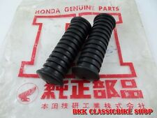 New listing Honda Dream 305 C72 Ca72 C77 Ca77 Foot Peg Footrest Rubber 50661-259-000 Japan