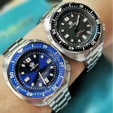 STEELDIVE NH35 Automatic Watch 200m Diver Mechanical Mens Watch Sapphire Crystal