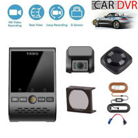 Viofo A129 Duo Car Dash Camera GPS Wifi 1080P Vehicle DVR +Remote +CPL +Hardwire