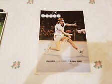 Advertising Italian Advertising * Tennis * Bjorn Borg + Diadora (1980)