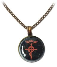 Necklace - Fullmetal Alchemist Brotherhood - Full Metal Logo Icon Jewelry Anime