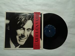 """BRYAN  FERRY  12  INCH E P  SINGLE ON E G  RECORDS  1988 ( HE """"LL HAVE TO  GO )"""