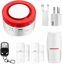 WiFi Home Security Alarm System, Hacevida Wireless T1 Smart Burglar Siren App
