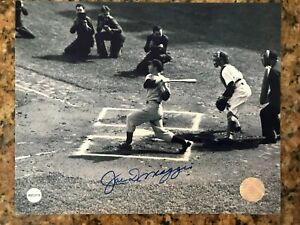 Joe DiMaggio Autographed 8x10 Photo with Certificate of Authenticity