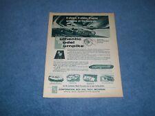 "1962 AMT Slot Car Vintage Ad ""It Steers, It Slides, It Spins...."""