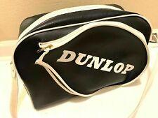 Vintage Dunlop leather tennis bag