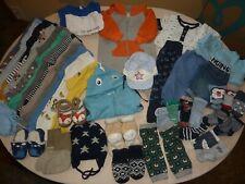 Jungen / Baby - Bekleidungspaket - Gr. 62/68 - 44 Teile