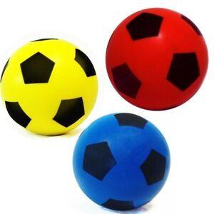 Soft Foam Sponge Footballs for Kids Indoor/Outdoor Children Red/Blue/yellow