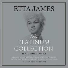 Etta James The Platinum Collection 3LP Gatefold Cool White Vinyl Record