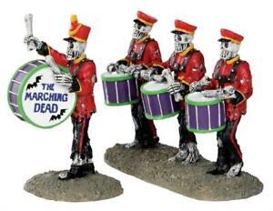 LEMAX Musiker Über Drums - Drum Corpse, Set Of 2 32101