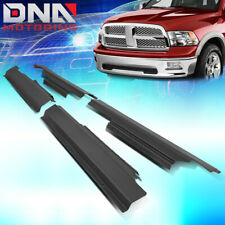 FOR 2009-2020 DODGE RAM 1500-3500 CREW CAB 4X ROCKER PANEL & SILL PLATE COVER