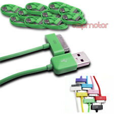 10X 6FT USB SYNC DATA POWER CHARGER CABLE APPLE NEW IPAD IPHONE IPOD TOUCH GREEN