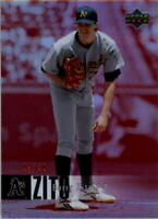 2006 Upper Deck Special F/X Red #321 Barry Zito /50 - NM-MT
