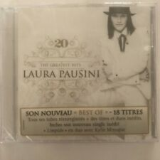 Laura Pausini 20 The Greatest Hits cd 18 titres neuf sous blister