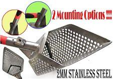 *5GRANIK*-2 mm Beach Sand Scoop Stainless Steel Metal Hunting Detector Tool