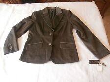 RAFAELLA Women's Jacket Size 12 Corduroy Stretch Olive Green NEW $79