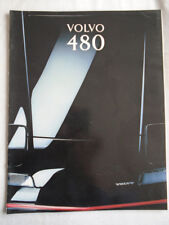 Volvo 480 range brochure 1993 German text