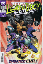 Justice League #5 DC COMICS Cover A Legion Of Doom 2018