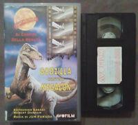 VHS FILM Ita Fantascienza GODZILLA CONTRO MEGALON avo film ex nolo no dvd (V46)