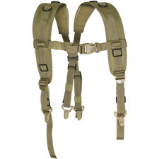 VIPER MILITARY LOCKING HARNESS COMBAT PADDED QUICK RELEASE ARMY SUSPENDER COYOTE