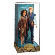 DISNEY STORE Fairytale Doll Collection POCAHONTAS & JOHN LIMITED EDITION 1/6000