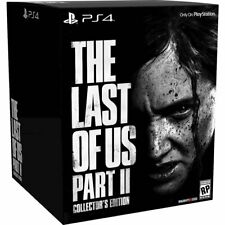 Die Letzten von uns Teil II Collector's Edition-Playstation 4 (ps4) Brandneu