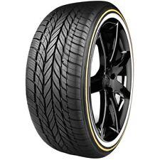 235/55R17 Vogue Custom Built Radial VIII 99H Gold & White Tire (QTY 1)