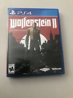 Wolfenstein II: The New Colossus (Sony PlayStation 4, 2017) New Factory Sealed