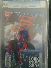 SUPERMAN/BATMAN  #9 CGC GRADED 9.8 -  SUPERGIRL , KRYPTO, WONDER WOMAN CAMEO !