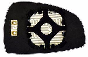 Rearview mirror AUDI TT 2007 08 09 2010  BLIND HEATED 12V GLASS Right  Side
