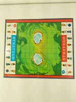 1960 Stratego Game Milton Bradley Original Replacement Playing Board GOOD