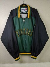 Vintage CHALK LINE Green Bay Packers NFL Light Windbreaker Jacket Mens 2XL XXL