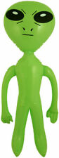 Inflatable Alien - 64cm - Blow Up Toy Loot/Party Bag UFO Kids