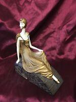 Art Deco Style Flapper Girl AF