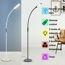 Dimmable Floor Lamp Standing Daylight LED Reading Hobby Work Craft Timer Light