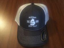 Brand New Mitten Golf Tour Trucker Hat