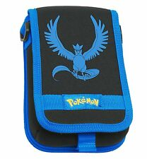 Hori Pokemon Articuno Travel Pouch Case for New Nintendo 3DS XL & 3DS - Blue