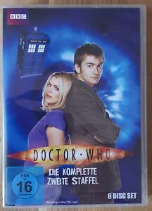 BBC DVD BOX Dr. Who David Tennant 10.Doctor Who Zweite 2. Staffel (no BluRay)