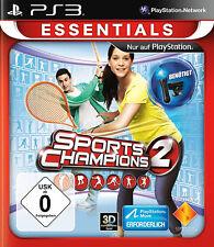 Sports CHAMPIONS 2 PS3 MOVE GIOCO * in ottime condizioni *