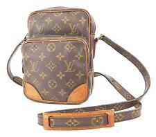 Auth LOUIS VUITTON Amazone Monogram Cross body Shoulder Bag Purse #37452